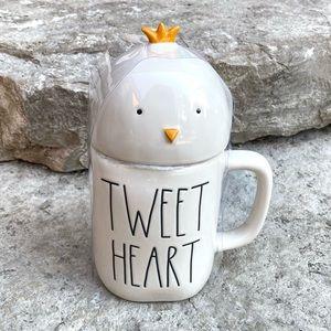 Rae Dunn TWEET HEART Topper Mug